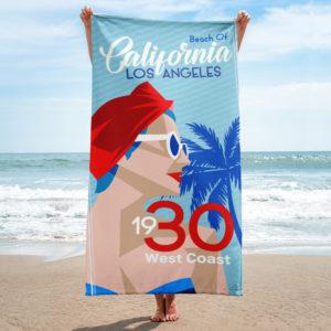 le drap de bain grand format 152x76 cm Art Deco sont disponibles La nouvelle collection 1930'S hetb.shop