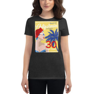 les t-shirts femme Art Deco sont disponibles 5 tailles, couleurs - La nouvelle collection 1930'S 3 versions - vêtement personnalisés hetb.shop
