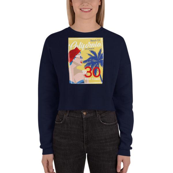 Ce Sweat-Shirt court Femme de la série Art Deco 1930'S hetb.shop