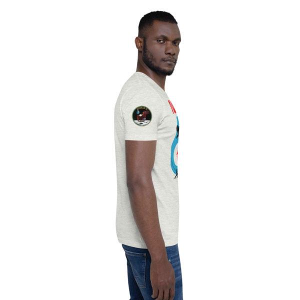 T-Shirt homme NASA série côté apollo 11