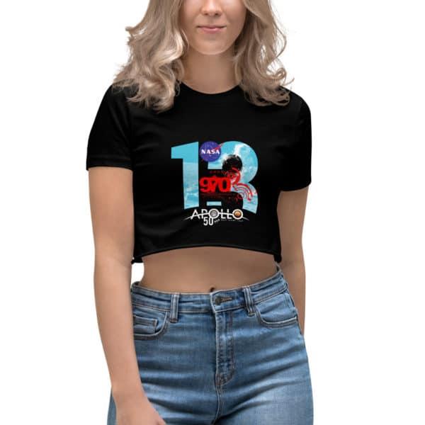 t-shirt court Femme NASA