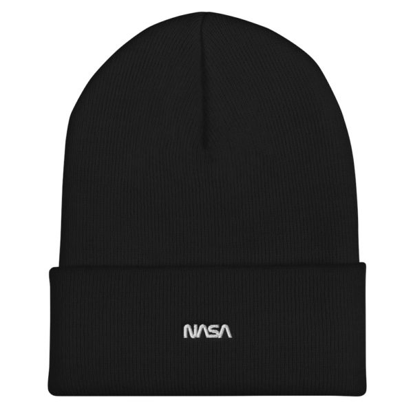Nouveau Bonnet à revers NASA brodé